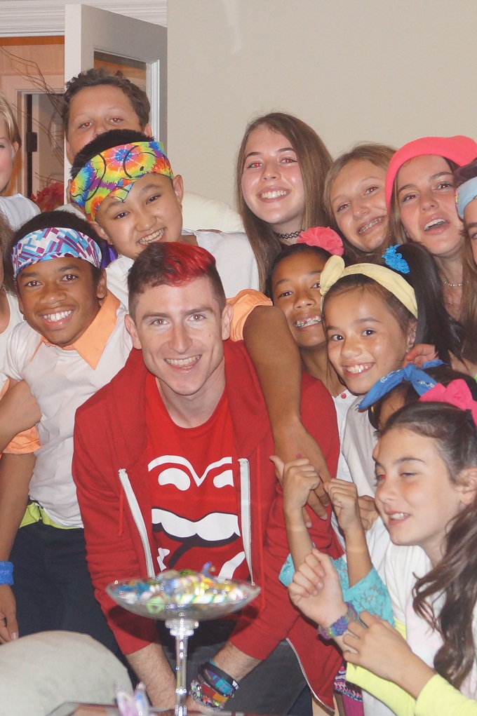 West L.A. Children's Choir backs WALK THE MOON on Jimmy Kimmel LIVE!!