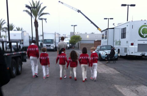 The West Los Angeles Children's Choir - Honda Commercial with Michael Bolton