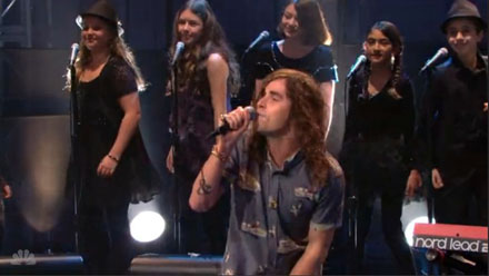 The WLA Children Choir on THE TONIGHT SHOW with Jay Leno