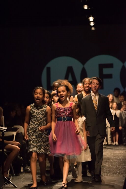 West Los Angeles Children's Choir rocks the Runway at L.A. Fashion Week