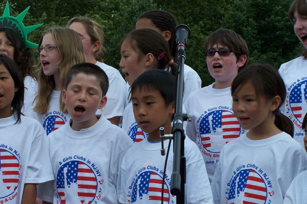 singing the liberty song